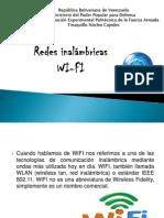 Redes inalámbricas WI-FI