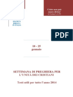 Settimana Unita' 2014