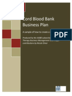 AABB Sample New program Business Plan