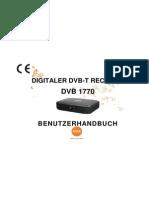 user manual_DVB1770