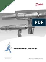 Valvulas de Presion KVP, KVD, KVC, KUS.