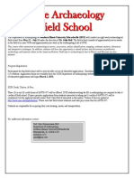 Field School Application 2014