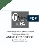 6o Informe de Gobierno, 2009 | Anexo estadístico