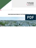 Investmentmarktbericht Stuttgart 1. Halbjahr 2009