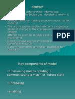 Key Components of Model