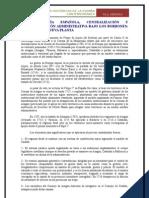 8 MONARQUIS ESPAÑOLA Y CENTRALIZACION ADMINISTRATIVA EN EL XVIII LOS BORBONES