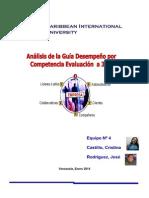 Análisis de la Guía Desempeño por Competencia Evaluación a 360º