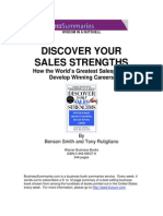 Brian Tracy - Discover Your Sales Strengths (Summary)