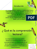 La Comprension Lectora