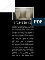 Stone Sinks Catalogue Lux4home