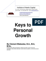 Keys to Personal Growth