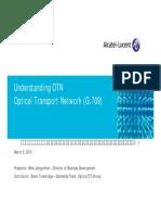 Optical Transport Network (OTN) G709