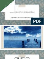 LA TEORIA CIENTIFICA, CONCEPTUALIZACIÓN Y MATEMATIZACIÓN.