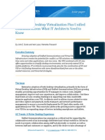 Virtualization -What an Architect Needs to Know