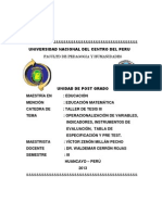 Variab Indicad e Inst Eval 2013 II