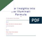 Deeper Insights Into the Illuminati Forumula by Fritz Springmier and Cisco Wheeler
