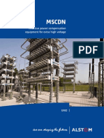 MSCDN Reactive Power Compensation Equipment for Extra High Voltage Brochure ENG