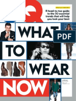 GQ - What to Wear Now - 2013
