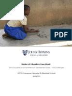 Girls' Education Case Study - Johns Hopkins University