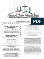 Aurora-Trinity Newsletter Jan14