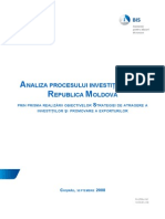 Analiza Procesului Investitional Din RM Actual