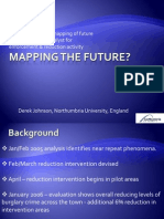 Spatial & temporal mapping of future criminal risk as a catalyst for enforcement & reduction activity