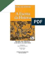 Michel de Certeau - A Escrita da história (doc)(rev)