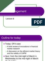 DFA case analysis