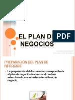 Preparacion Del Plan de Negocios