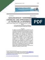 Adolescencia y Enfermedades Cronicas