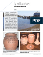 Charles Lawrence Pottery - New England Antiques Journal January 2014