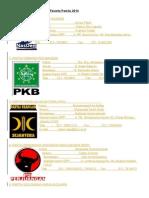 Profil Lengkap Partai Politik Peserta Pemilu 2014