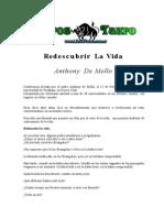 De Mello, Anthony - Redescubrir La Vida