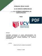 Tesis Clima Organizacional Marilin Armas Zavaleta