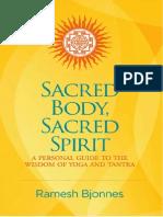 Sacred Body Sacred Spirit+Book