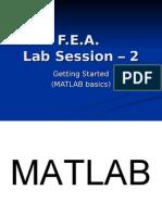 Lec 2 MATLAB Environment and Basics