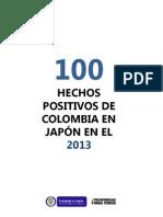Resumen de 2013 Colombia Japon