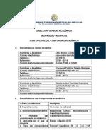 Plan Docente Gp 3