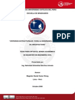 2006 Criterios Estructurales para la Enseñanza a los alumnos de Arquitectura.pdf