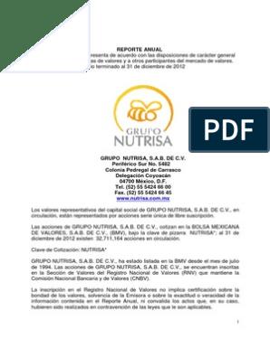 Anual 2012 Normas Internacionales De Información
