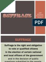 V Suffrage