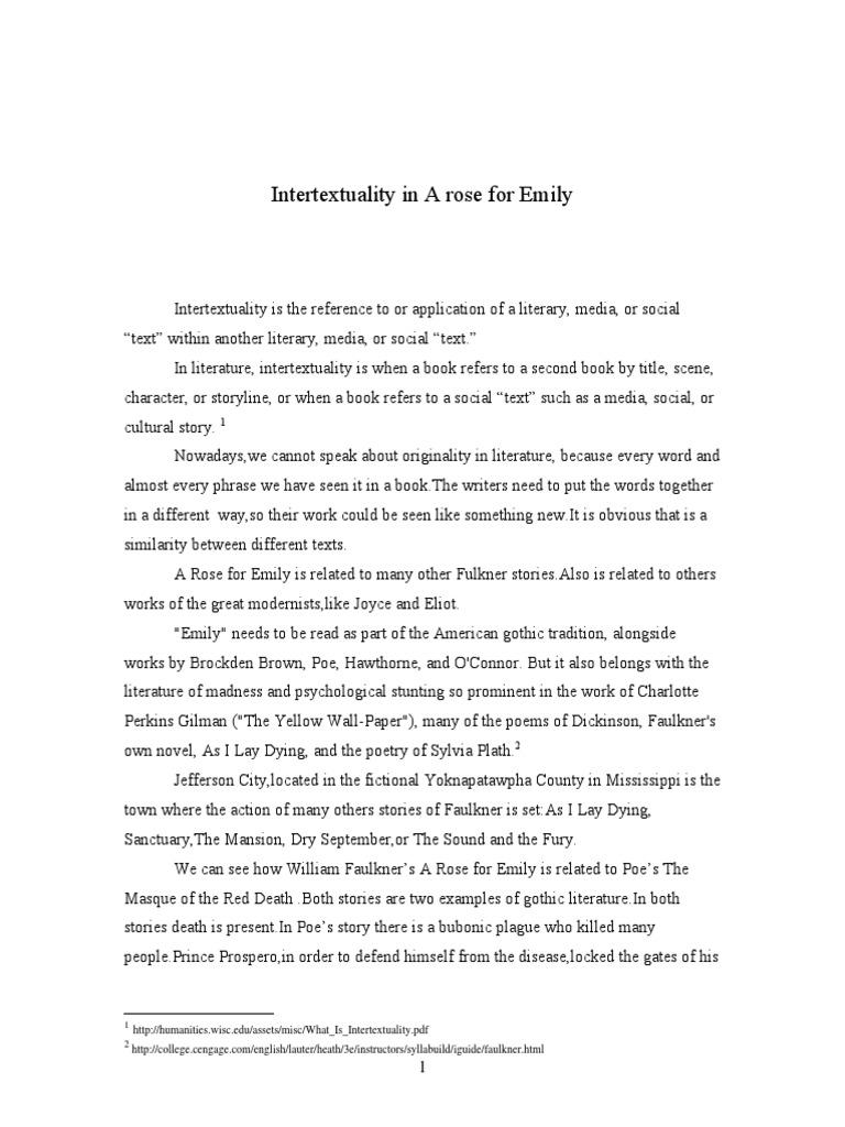 racism in faulkners dry september essay