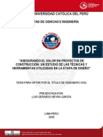 2008 Asegurando el valor en proyectos de construcción_Un estudio de las técnicas y Herramientas utilizadas en la etapa de diseño.pdf