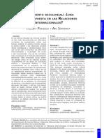 RELACIONES INTERNACIONALES Y PENSAMIENTO DECOLONIAL