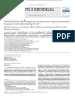 2013-CONSENSO NACIONAL SOBRE EL DIAGNÓSTICO, ESTRATIFICACIÓN DE RIESGO Y TRATAMIENTO DE LOS PACIENTES CON TROMBOEMBOLIA PULMONAR.pdf