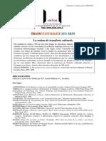 Seminaire Transculturalite Des Arts Biblio 23 01
