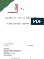 Apuntes de Teoria de Sistemas 2012