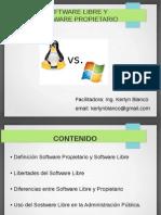 software libre y propietario.odp