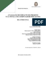Relatório Final da Pesquisa Avaliação de Impacto do Programa UCA_Total
