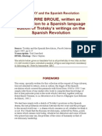 TROTSKY and the Spanish Revolution